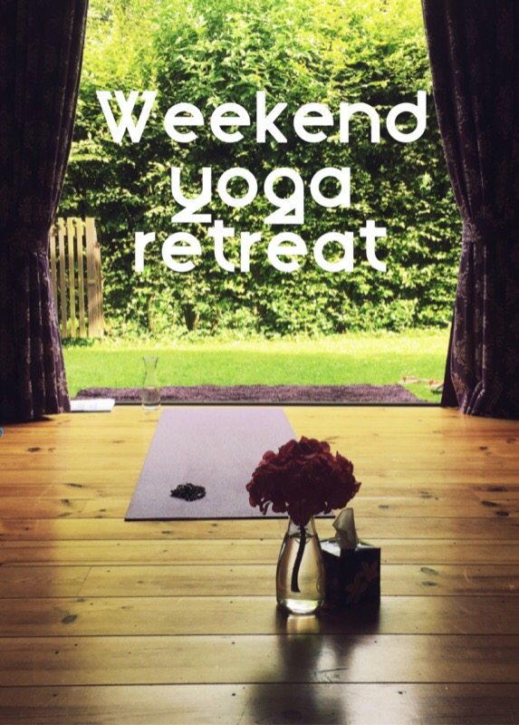 Teaching at a weekend yoga retreat - ForeverSunday