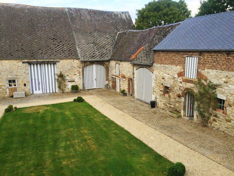 Ardennes farm courtyard