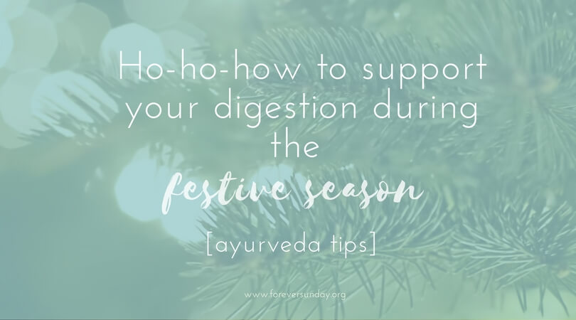 support your digestion during the festive season