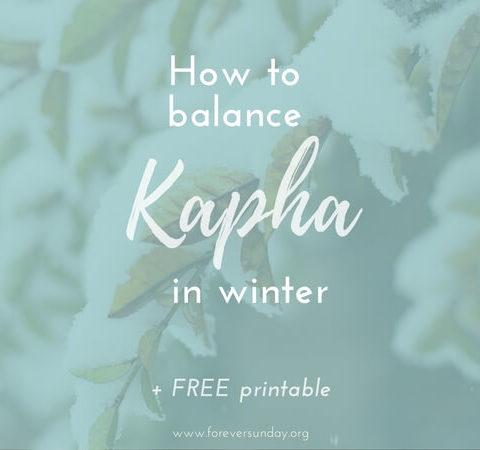 how to balance kapha in winter(1), winter kapha balancing foods