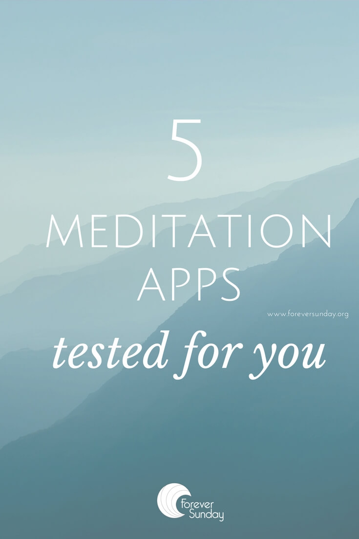 5 meditation apps tested for you