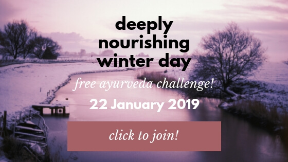 deeply nourishing winter day challenge