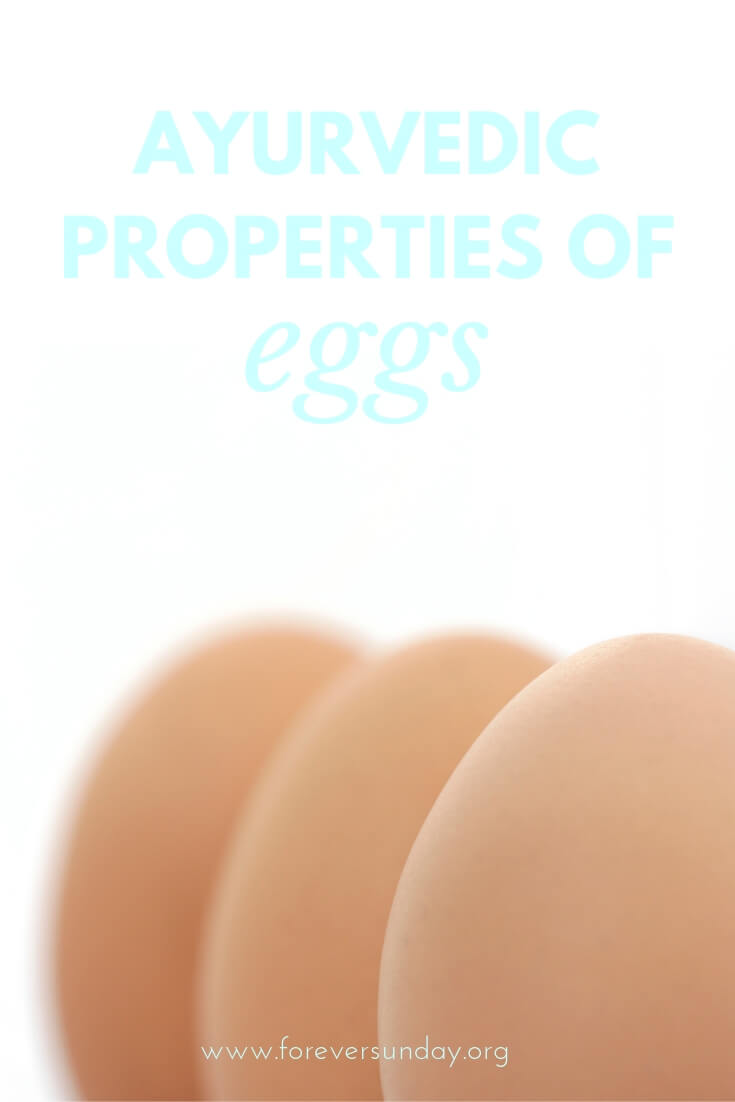 ayurvedic properties of eggs