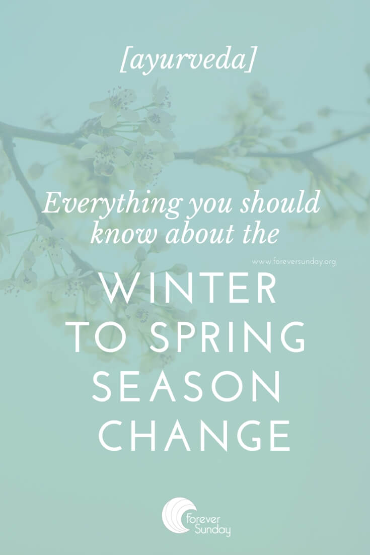 winter to spring transition