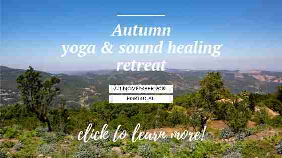 autumn yoga and sound healing retreat 2019