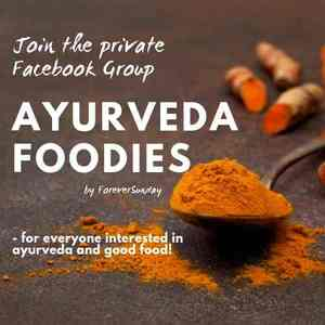 join the ayurveda foodies facebook group