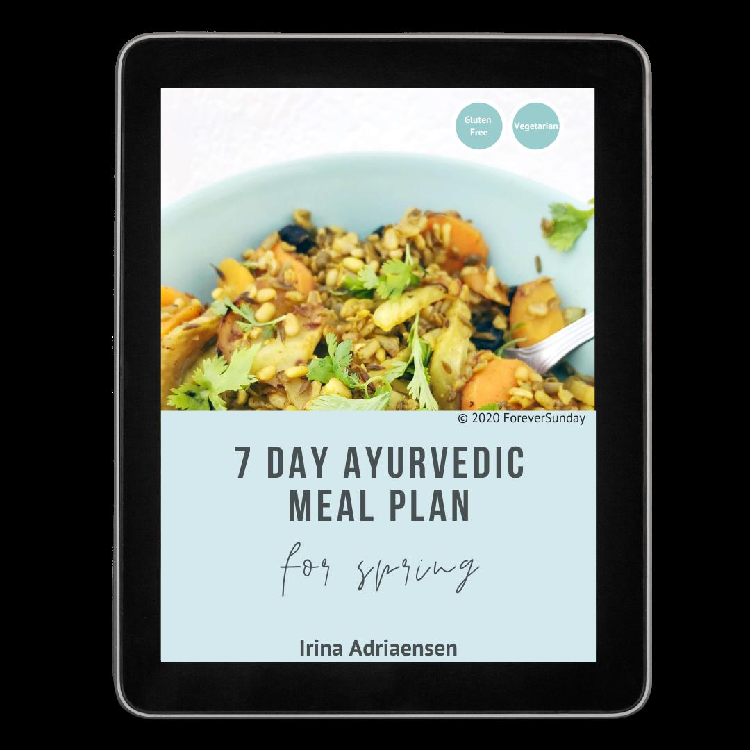 spring meal plan ayurveda