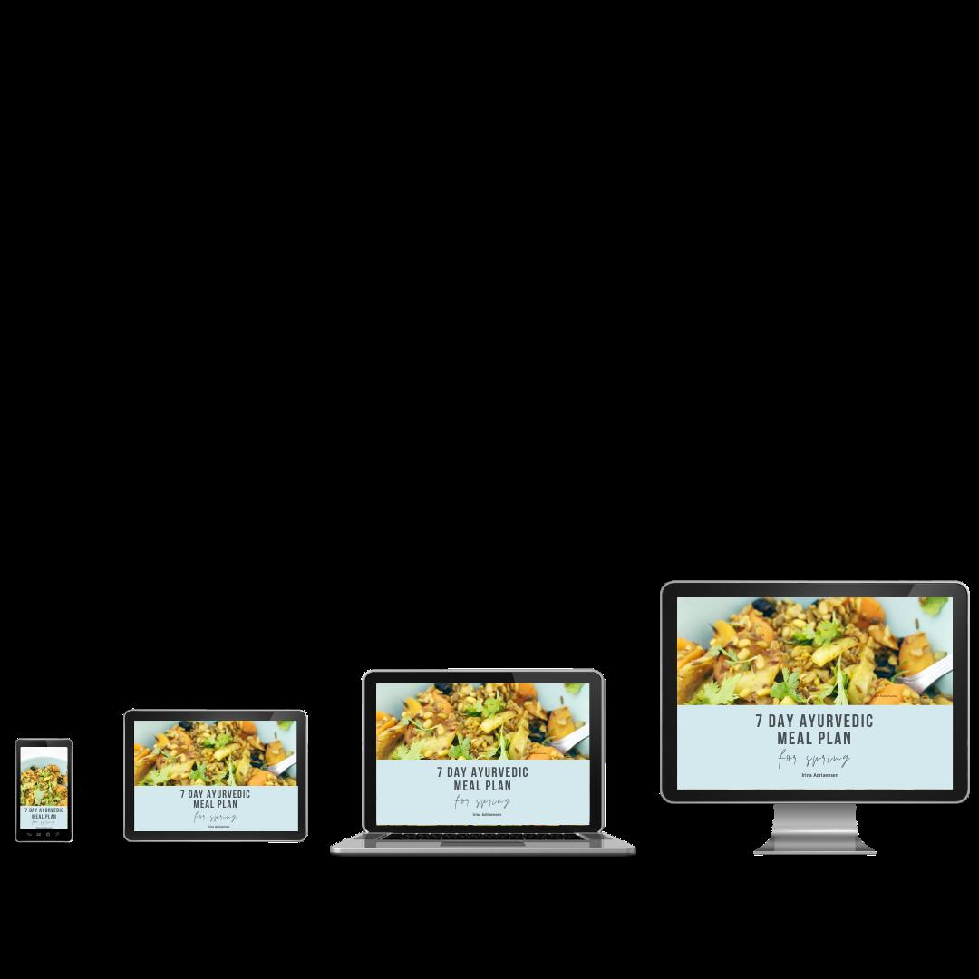 ayurvedic meal planning